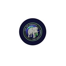 Cute Elephant t Mini Button