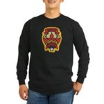 Indio Police Long Sleeve Dark T-Shirt