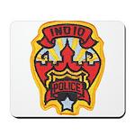 Indio Police Mousepad