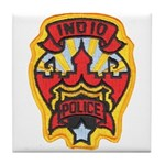 Indio Police Tile Coaster