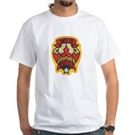 Indio Police White T-Shirt
