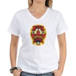 Indio Police Women's V-Neck T-Shirt