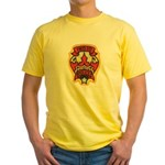 Indio Police Yellow T-Shirt