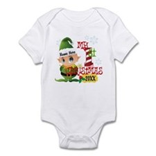 Baby Elf 1st Christmas Infant Bodysuit