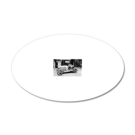 Pikes Peak Champion Race Car 20x12 Oval Wall Decal