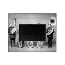 Police Band Tuba Players Picture Frame