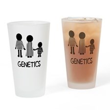 genetics2 Drinking Glass