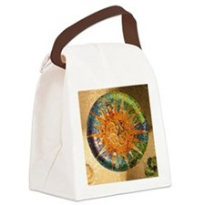 Park Guell Barcelona Canvas Lunch Bag