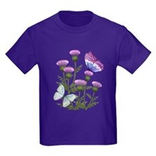 Thistles And Butterflies Kids Da T