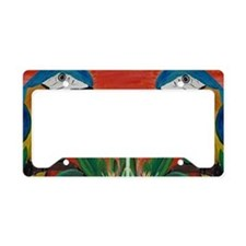 Parrot head License Plate Holder
