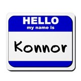hello my name is konnor  Mousepad