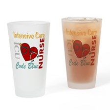 ICU Nurse Drinking Glass
