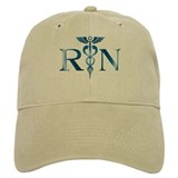 RN Nurse Caduceus Baseball Cap
