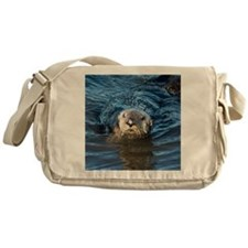 Alaska Sea Otter Messenger Bag