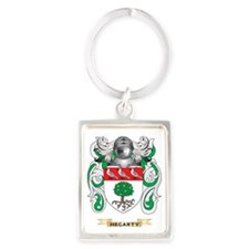 Hegarty Coat of Arms (Family Cre Portrait Keychain