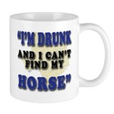 Can't Find My Horse! Mug