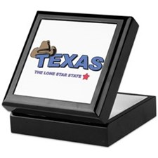Lonestar State Keepsake Box