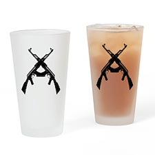 AKS X DARK Drinking Glass