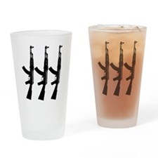 AKS ACROSS DARK Drinking Glass