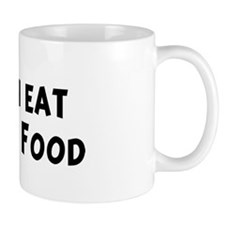 Men eat Romanian Food Mug