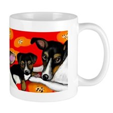 Rat Terrier dogs Mug