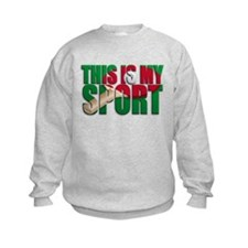 table tennis this is my sport Sweatshirt