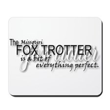 Fox trotter Mousepad