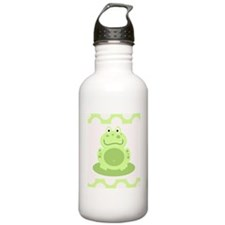 Cute Green Frog Water Bottle