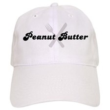 Peanut Butter (fork and knife Baseball Cap