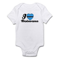 I love Botswana Infant Bodysuit