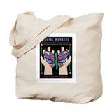 Cute Social work Tote Bag