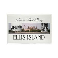 ABH Ellis Island Rectangle Magnet