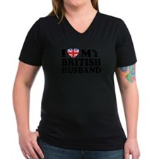 I Love My British Husband Shirt