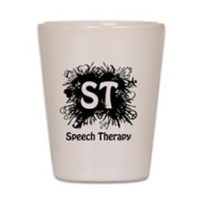 Speech Splash Shot Glass