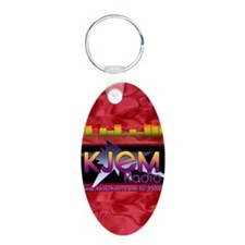 KJEM Radio EQ Red Logo play Keychains