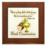 Cute Palm sunday Framed Tile