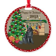 2013 Newfoundlands 1St Christmas Ornament