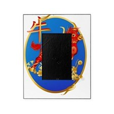 Year Of The Ox Oval Picture Frame