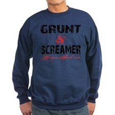 GRUNT  SCREAMER - WHITE Sweatshirt
