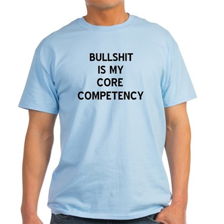 Bullshit Light Blue T-Shirt