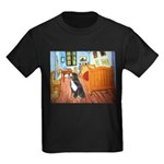A Room with a Bernese Kids Dark T-Shirt