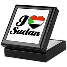 I love Sudan Keepsake Box