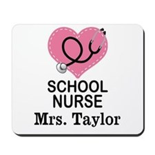 Personalized School Nurse Mousepad