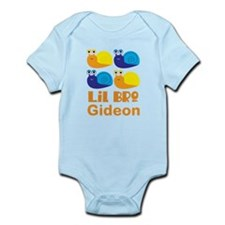 Personalized Little Bro snail Body Suit