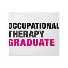 OT Graduate Throw Blanket