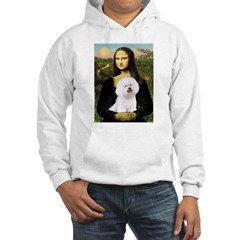 Mona's Bichon Hooded Sweatshirt
