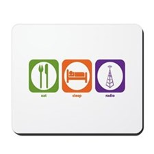 Eat Sleep Radio Mousepad