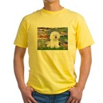 Llies & Bichon Yellow T-Shirt