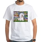 Llies & Bichon White T-Shirt