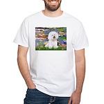 Llies & Bichon White T-Shirt